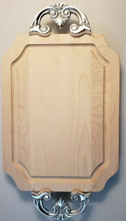 BigWood Boards 300-CL Cutting Board with Handles, Cheese Boa