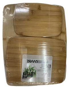 Farberware 5070344 Bamboo Cutting Board, Set of 3