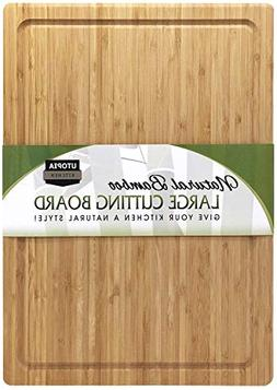 Utopia Kitchen Extra Large Bamboo Cutting Board