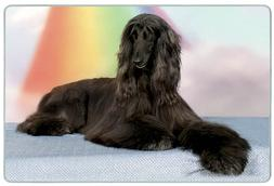 Canine Designs Afghan Hound Tempered Glass Cutting Board - S