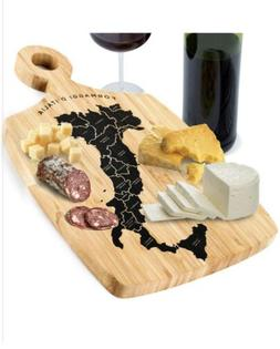 Bamboo Cheese Cutting Board Charcuterie Platter/ Serving Tra