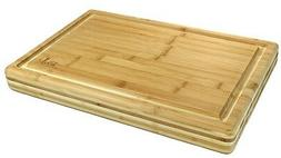 Bamboo Extra Large Size Cutting Board / Chopping Block 18 X