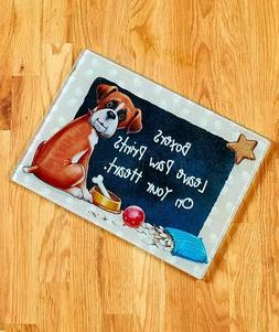 Boxer Dog Breed Cutting Board Pet Lover Kitchen Home Decor