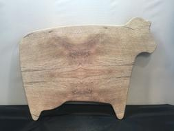 Cow Shaped Cutting Chopping Board Lovely Style Kitchen Dinin
