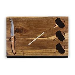 Picnic Time Delio Cutting Board and Cheese Tools Serving Set