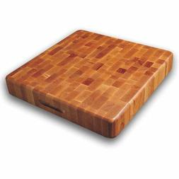 "Cutting Board Extra Large 20"" X 20"" Butcher Block End Grain"