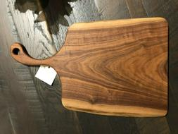 Cutting-board-live-edge-solid-walnut-wood-for-kitchen-dining