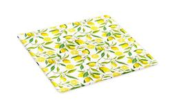 Ambesonne Nature Cutting Board, Exotic Lemon Tree Branches Y