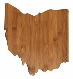 Totally Bamboo Cutting and Serving Board, Ohio State 20-7956