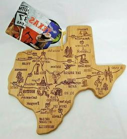 Totally Bamboo Destination State Serving Board - Texas; 100%