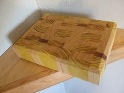End Grain Cheese Cutting Board Hand Made