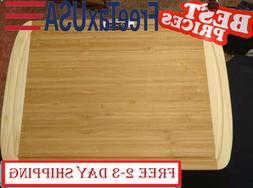 Extra Large Bamboo Cutting Board - Best Wooden Cutting Board