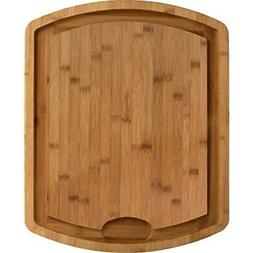 Totally Bamboo Farmhouse Bamboo Carving and Cutting Board, 1
