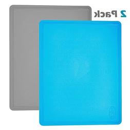 Flexible Anti-Bacterial Cutting Board, Extra Large, Scratch
