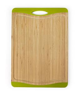 "Neoflam Flutto 11"" Bamboo Cutting Board with Non-Slip Edges"