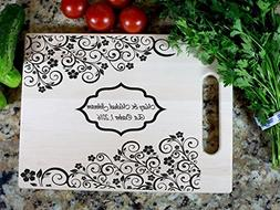 Gift Cutting Board Wedding Gift Cutting Board Housewarming G