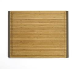 OXO Good Grips 12-by-16-Inch Large Bamboo Cutting Board, Bro