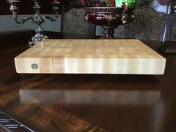 Grade 'A' Maple Cutting board, End grain, Large, Reversi