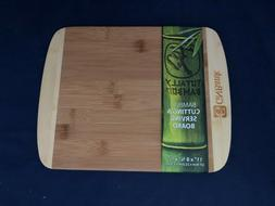 "Totally Bamboo Half Inch 2-Tone Board, Medium, 11"" by 9"", 10"