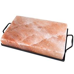 "Zenware 12"" x 8"" x 2"" Natural Himalayan Block Cooking Salt P"