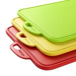 zanmini Color Cutting Boards for Kitchen, Dishwasher-Safe Ch