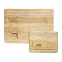 Kitchen Wood Cutting Board Set Small Large Big Serving Chopp