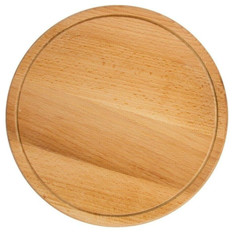 10 round wooden cutting board beech wood