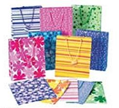 12 Medium Gift Bags - Assorted
