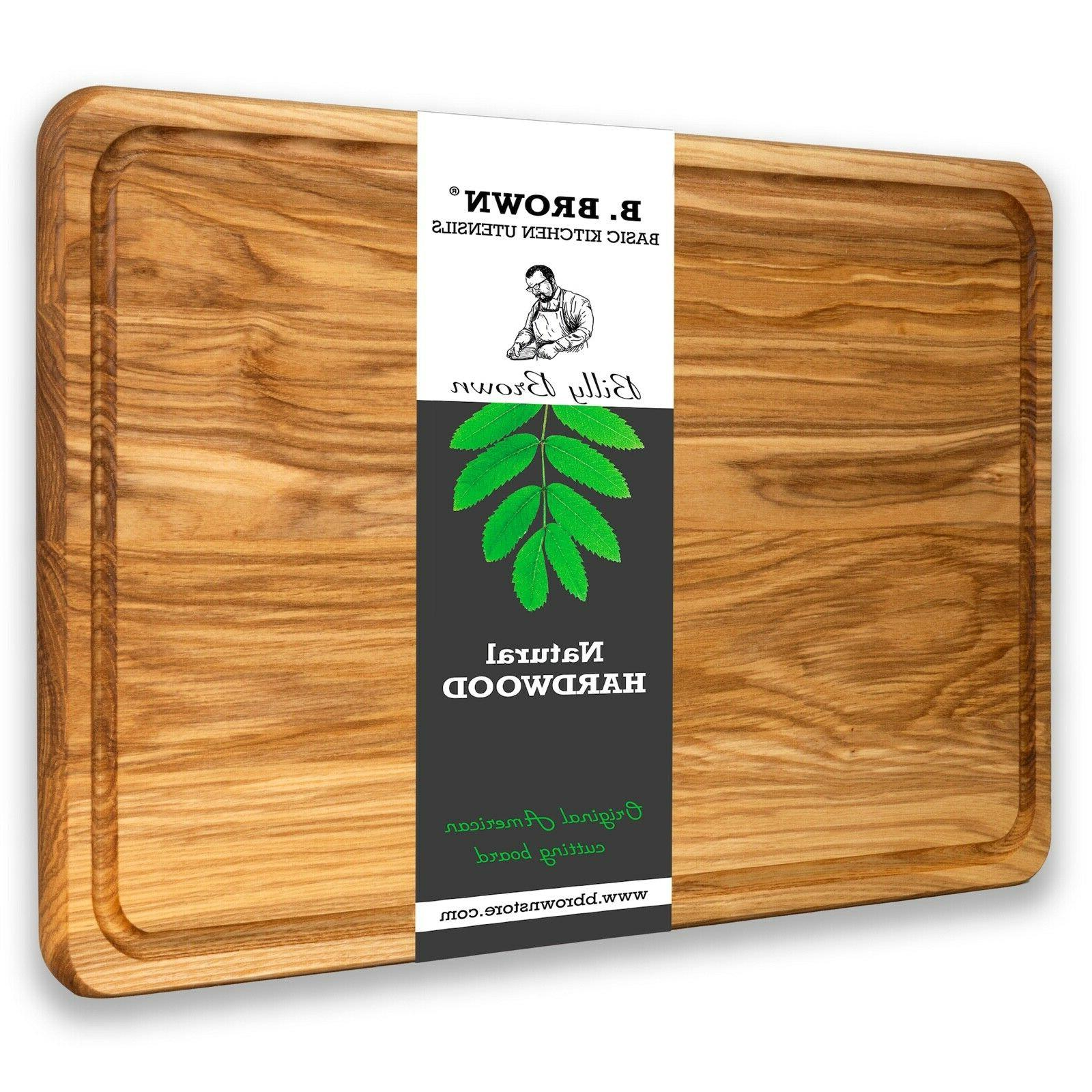 17 7 large wood cutting board from