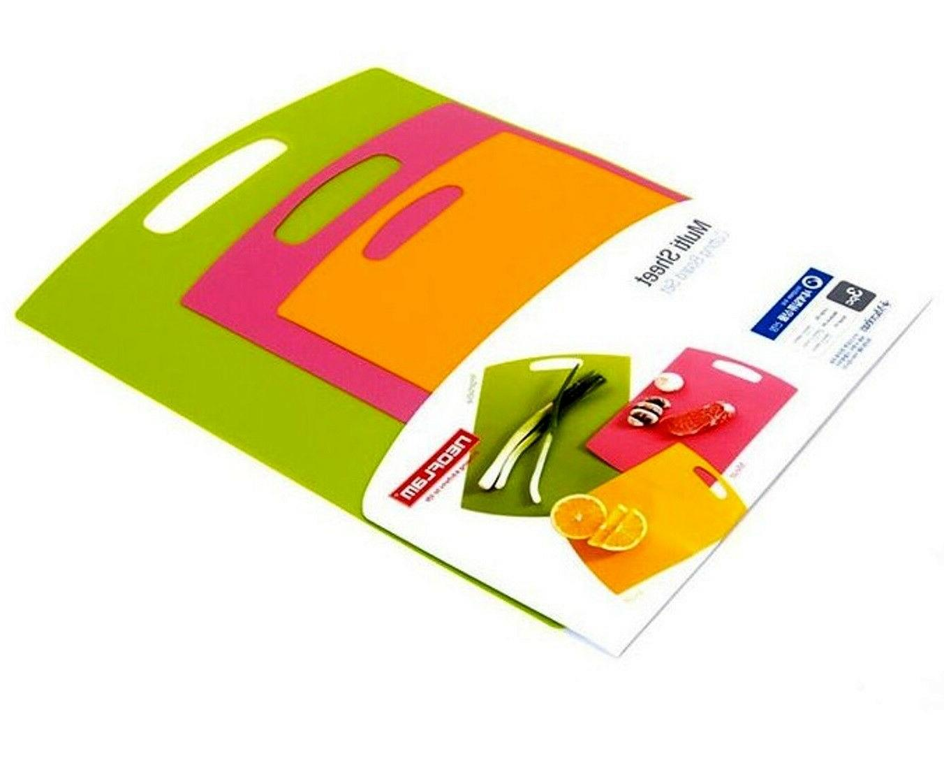 3p flexible cutting board mats multi sheet