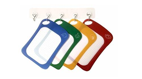 Cutting Board / Mat Set Antibacterial & Dishwasher Safe, Set