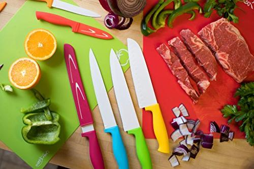 Extra Flexible Plastic Cutting With Food Back,