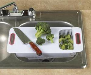 Home-X Adjustable Cutting Board.
