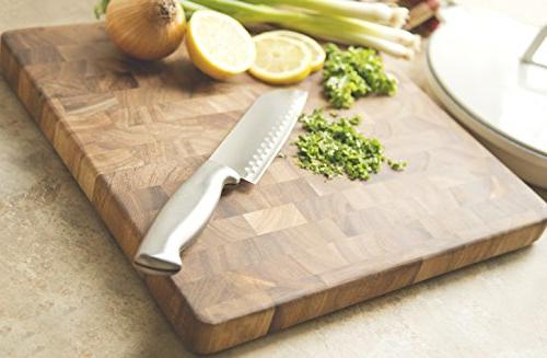 Ironwood Gourmet End-Grain 14-Inch Chef's Board
