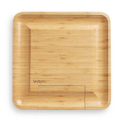 Bamboo Cutting Knife Gift Wooden Charcuterie Meat