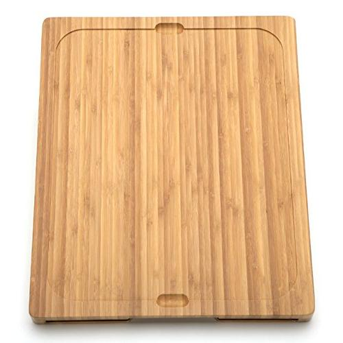 Seville Bamboo Cutting Board with 7