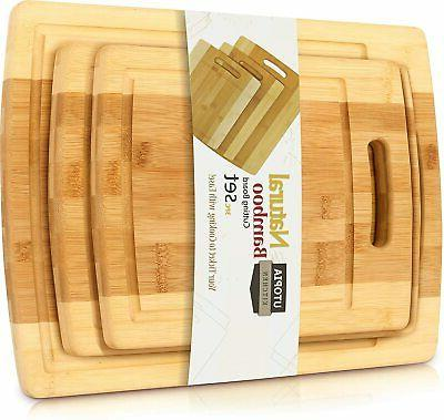 bamboo cutting board totally wood