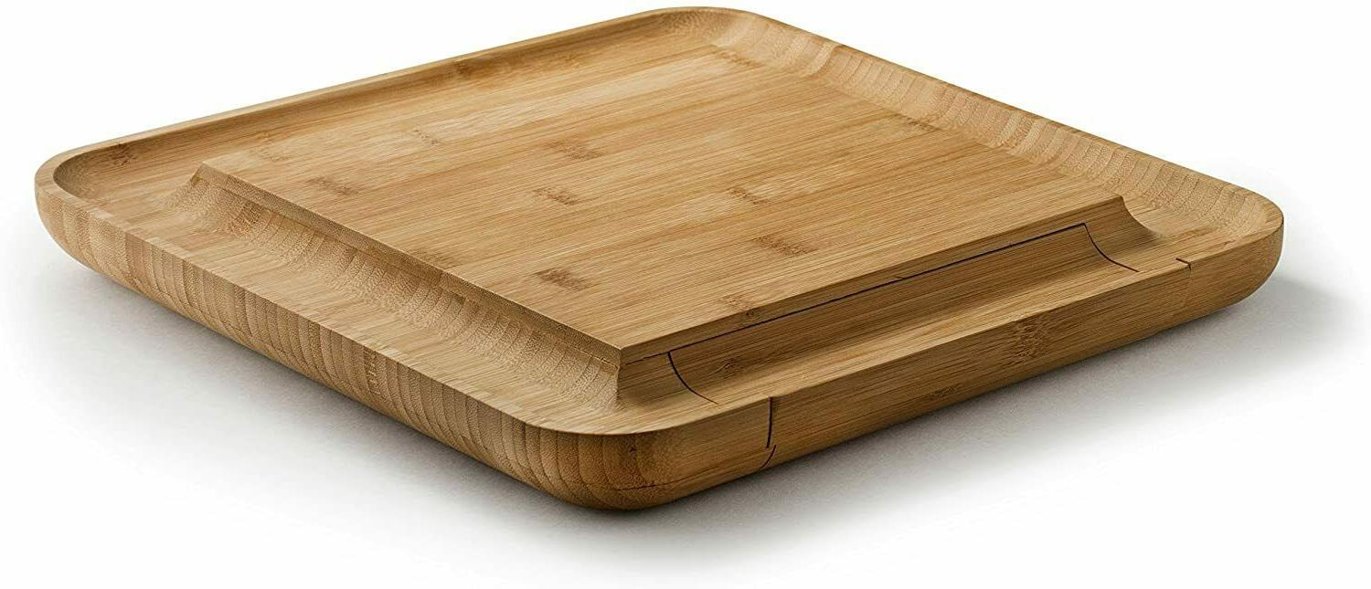 Organic With Wood Platter Serving New