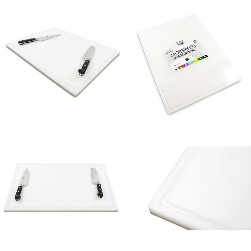 commercial plastic carving board with groove nsf
