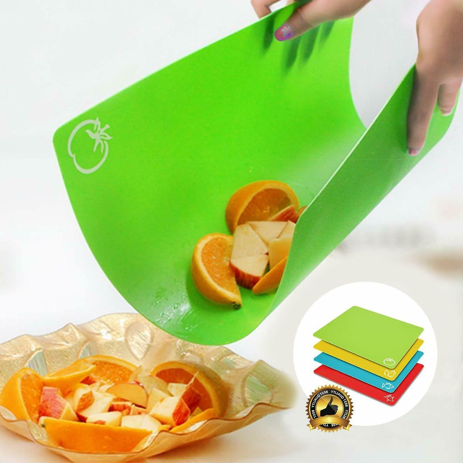NEOFLAM Flexible Cutting with BPA Free, Non Dishwasher
