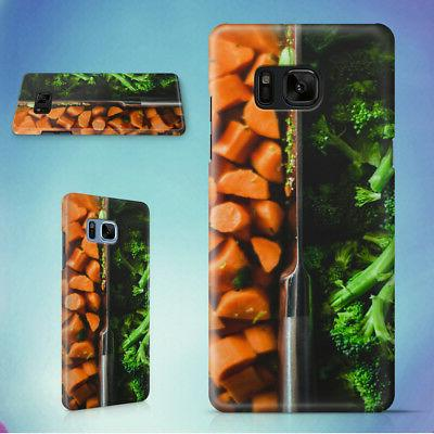 FOOD VEGETABLES CUTTING BOARD COOKING HARD CASE FOR SAMSUNG