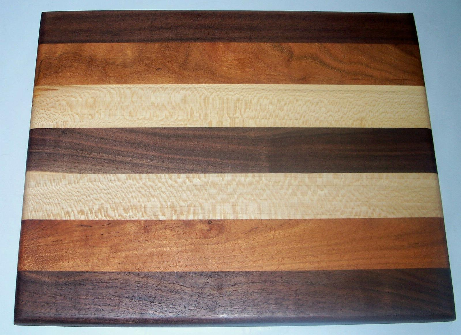 Handmade Multi Color Wood Cutting Board