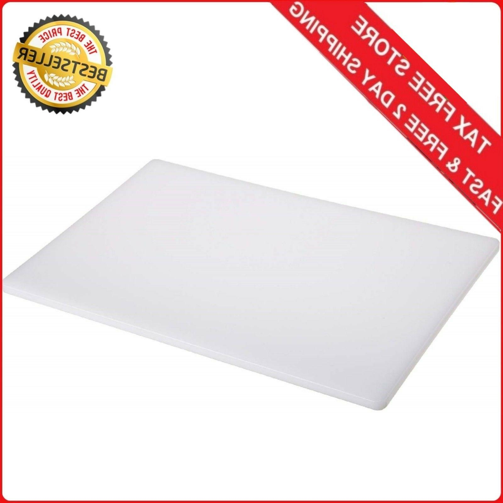 Large 18 x 12 Commercial Plastic Cutting Board NSF NEW