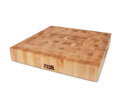 "John Boos Kitchen 24/""x18/""x 2-1//4/"" Extra Large Reversible Maple Cutting Board"