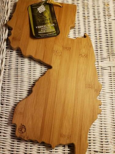 new jersey shape chopping cutting board new