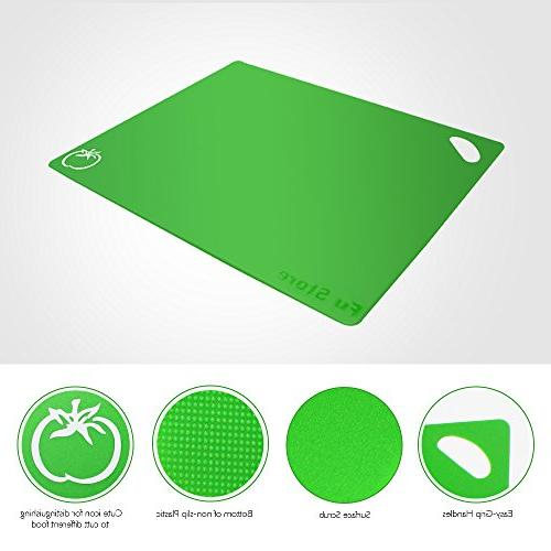 Fu Extra Flexible Plastic Board of with Food Easy-Grip FDA