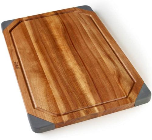 PortoFino Acacia Wood Cutting Board / 2-in-1 Reversible Serv