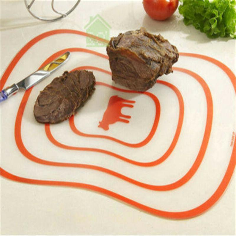 Skidproof Kitchen Dining Fruit Plastic Cutting Boards Cut Me