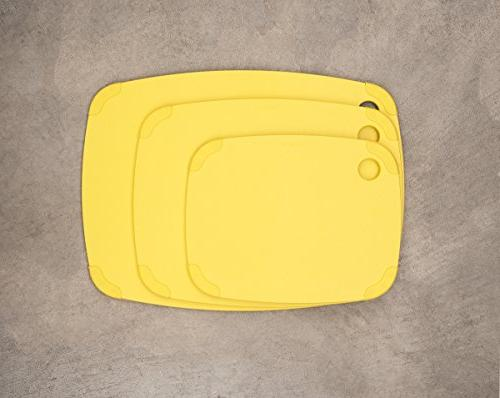 Epicurean Recycled Poly Cutting Board, Yellow