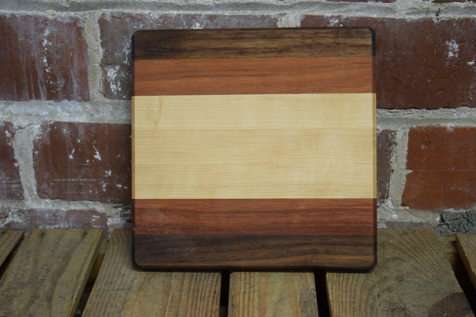 wood cutting board made by our woodshop
